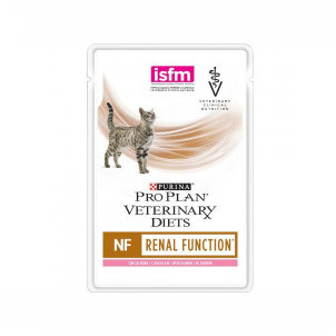 Диета Purina Pro Plan Veterinary diets NF Renal (Ренал) для кошек при патологии почек, с лососем, 85 г